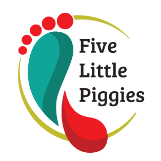 Five Little Piggies Logo